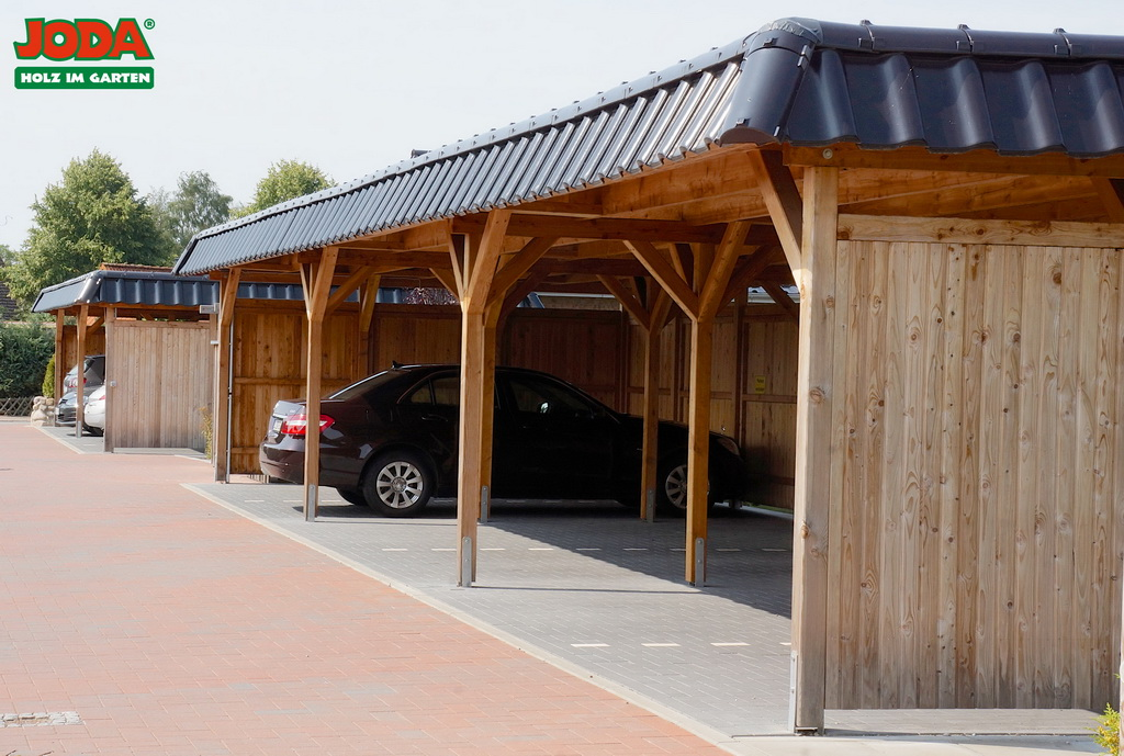 Carports garagen htk holz technik gmbh for Joda carport