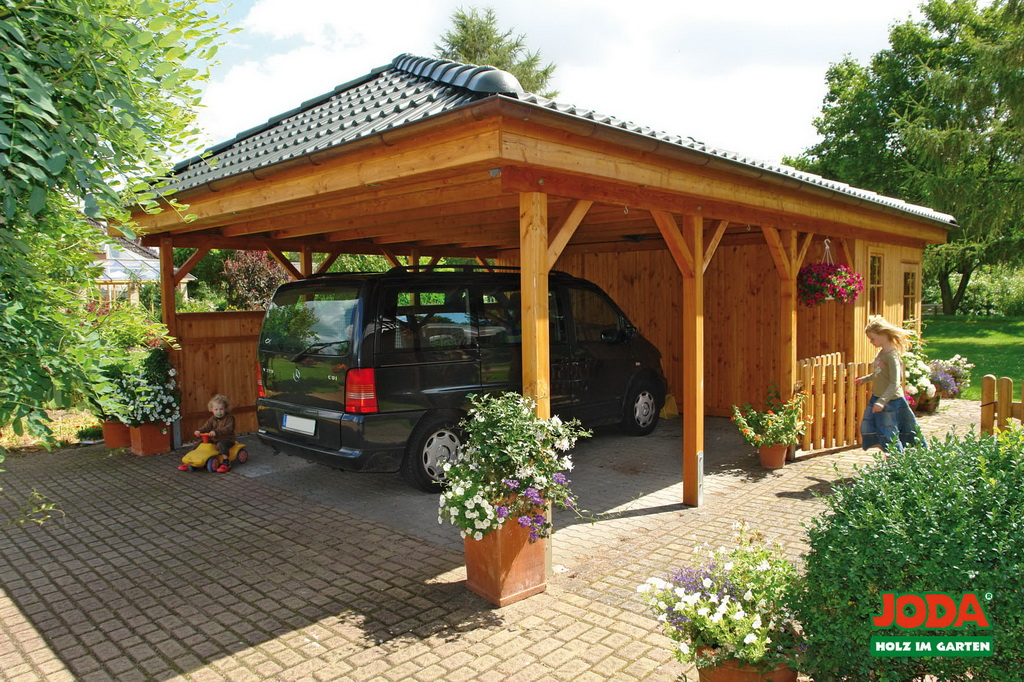 carports garagen htk holz technik gmbh. Black Bedroom Furniture Sets. Home Design Ideas